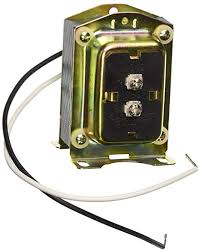 Honeywell AT140A1000 24volt 40va Transformer w/Opt. Mounting Plate.