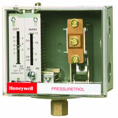 Honeywell  L404F1094 Pressuretrol Controllers, Auto recycle, 20 psi to 300 psi