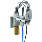 Honeywell Q3450C1185 SmartValve System pilot burner for natural gas, includes BCR-18 orifice and Left facing tip