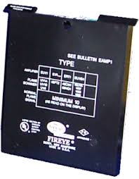 Fireye E1R1 Infrared Flame Amplifier for E110 Control