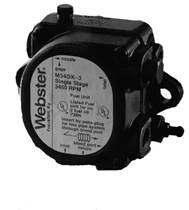 Webster 2M17CL-3 Two Stage  1725rpm CCW/L 3GPH 100PSI